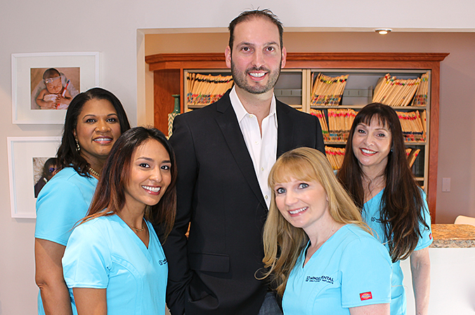 Fort Lauderdale dentist Dr. Marc Mingel with Mingel team